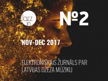 Tiek izdots otrais Latvijas džeza žurnāla numurs