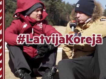 Video: Kādēļ Latvijas biatlonisi Korejā dzīvo pēc Latvijas laika?
