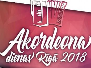 """Starptautiskā labdarības festivāla """"Akordeona dienas - Rīga 2018""""  koncerti Rīgas Sv. Pētera baznīcā"""