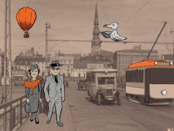 """Aleksandra Čaka memoriālajā dzīvoklī–muzejā  Muzeju nakts pasākums - """"Pilsētas skaņu šūpulis"""""""
