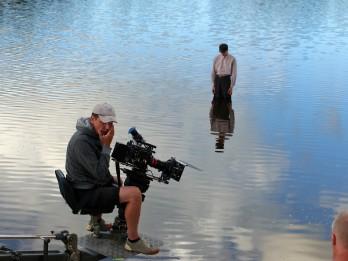 """Drīz tiks pabeigta Viestura Kairiša jaunā spēlfilma  """"Piļsāta pi upis / Pilsēta pie upes"""""""