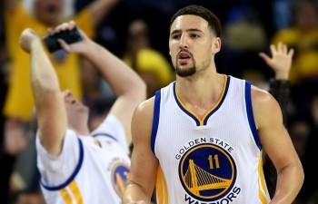 Tompsonam 40 punkti, ''Warriors'' tuvojas rekordam