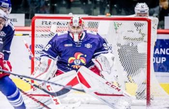 """Kalniņam otrā <i>sausā</i> spēle šosezon, Daugaviņš palīdz """"Spartak"""" apspēlēt KHL līderi"""