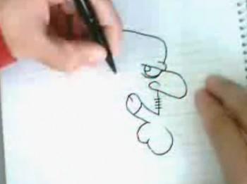 Video: Divdomīgie zīmējumi. Unikāls talants un jautrs rezultāts