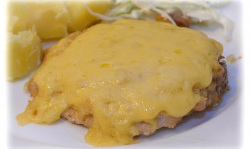 Fotorecepte: krāsnī cepta karbonāde ar sieru