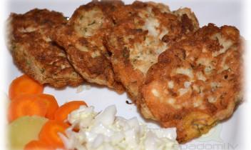 Fotorecepte: Omletītes ar gaļu soli pa solim