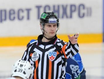 Odiņš ceturto reizi atzīts par KHL labāko tiesnesi