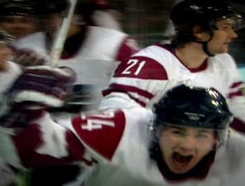 Video: Latvija - Čehija 2010. gada Olimpiskajās spēlēs