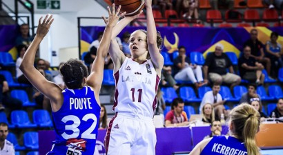 Latvija atspēlē 13 no 17 punktiem, Franciju galotnē glābj...tālmetieni