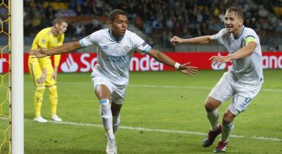 19 gadus vecais Malens drāmā izrauj PSV uzvaru pār BATE