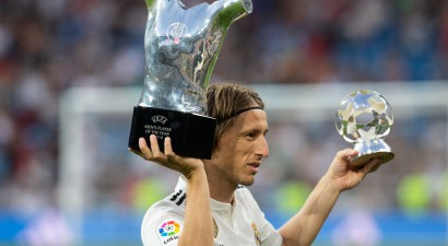 Gada labākā futbolista balvai izvirzīti Ronaldu, Modričs un Salāhs