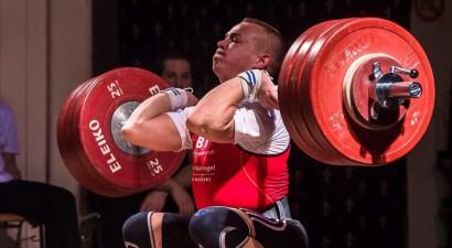 Suharevs Vācijā labo Latvijas rekordu grūšanā