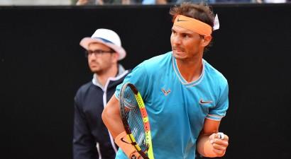 Nadals grandu duelī Romas finālā uzvar Džokoviču