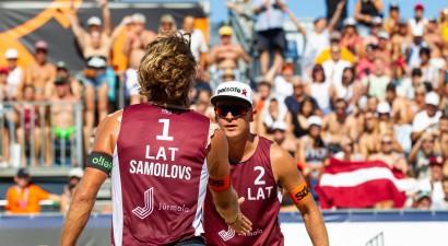 Apstiprināts CEV pludmales volejbola Kontinentālā kausa otrās kārtas kalendārs