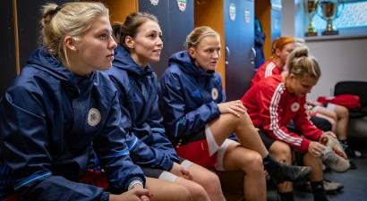 Futbolistes cer uz punktiem - Liepājā lielās iespējas mačs pret Slovākiju