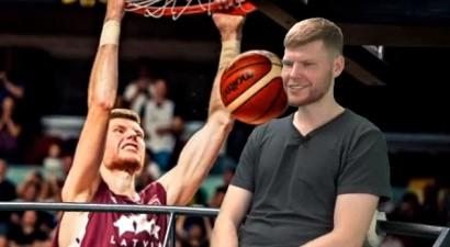"""Dāvis Bertāns: """"Jau piecu gadu vecumā teicu, ka spēlēšu NBA"""""""