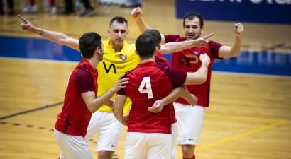 Latvijas Futbola federācija nolēmusi pārtraukt telpu futbola čempionāta norisi