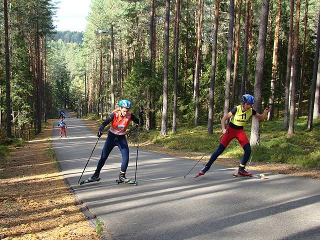 Latvijas čempionāta un Baltijas kausa rollerslēpošanā rezultāti
