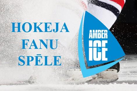 "Konkursā ""Amber Ice Hokeja fanu spēle"" uzvar <b>iNectar</b>"