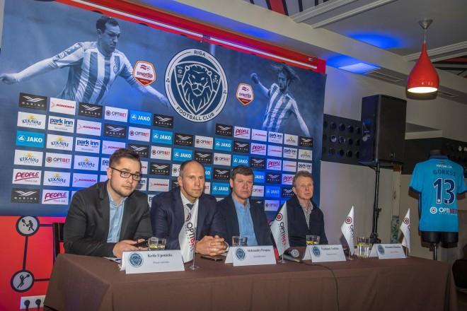 """""""Riga"""": krievu investors prom, Ronaldinju tika piedāvāts līgums"""