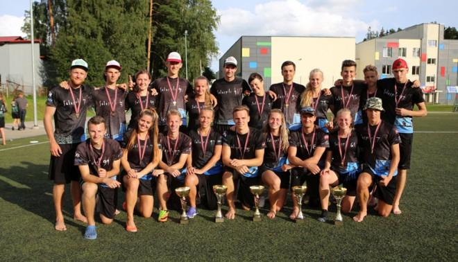 Abas Salaspils komandas nosargā čempionu titulu