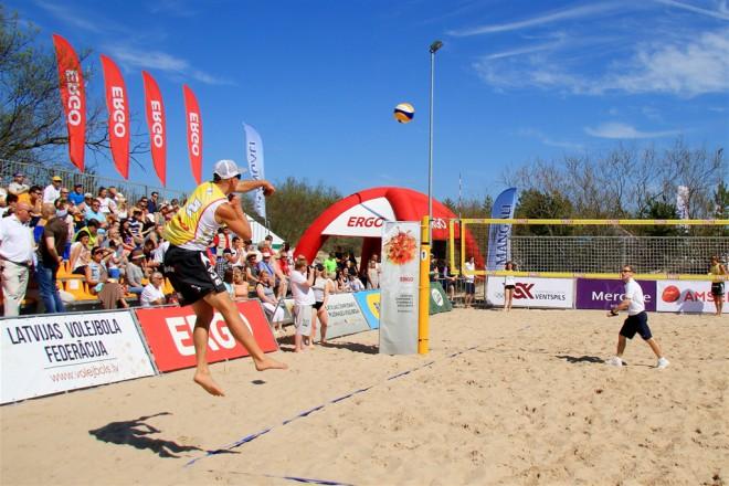 Noslēdzas Ventspils pludmales volejbola sezona