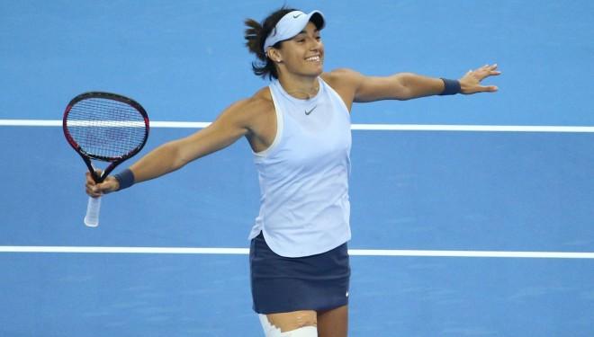 """""""WTA Finals"""" pēdējo ceļazīmi iegūst Garsija"""