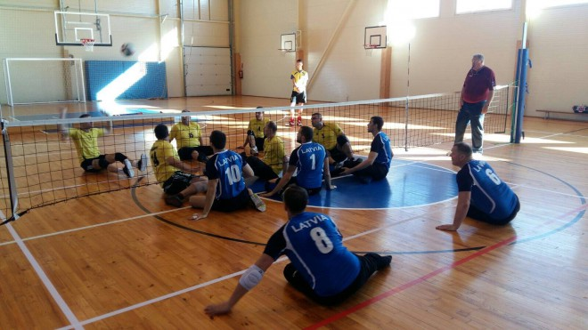 Latvijas sēdvolejbola izlase dodas uz turnīru Lietuvā