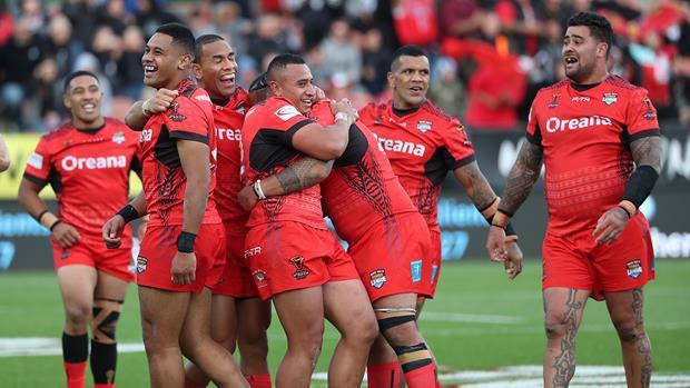Tonga sensacionāli pārspēj Jaunzēlandi, Skotijai turnīrs beidzies