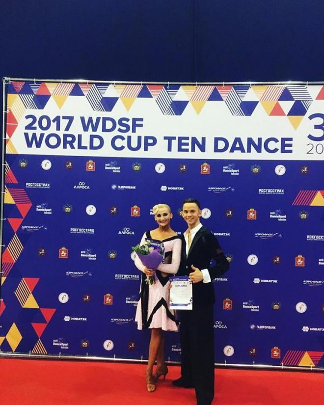 Latvijas pāris 4.vietā arī Pasaules kausā 10 dejās