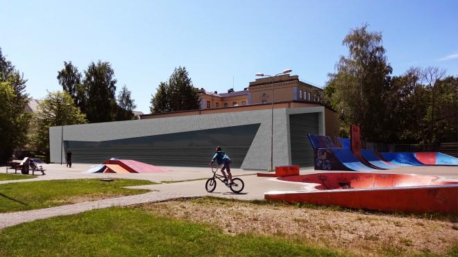 Ventspilī būvēs BMX slēgto ziemas treniņbāzi