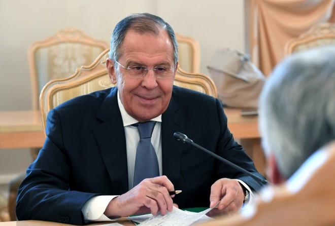 """Krievijas Ārlietu ministrs Lavrovs: """"Acīmredzot amerikāņi vairs nevar mūs uzvarēt godīgā cīņā"""""""