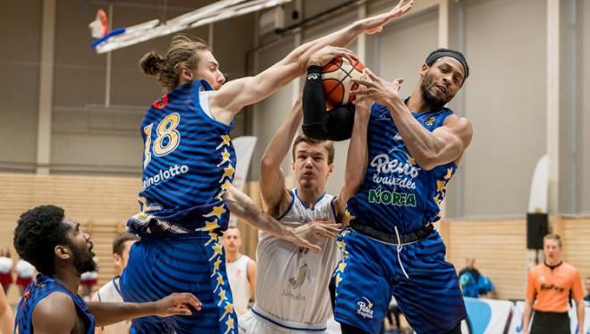 """Vai """"Jūrmala"""" BBL finālā spēs atspēlēt -18, skaties <i>Sportacentrs.com TV</i>"""