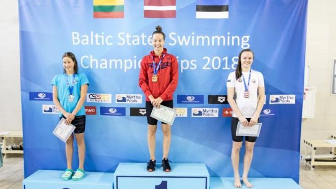 Maļuka dienu pirms 15. dzimšanas dienas pārspēj Latvijas rekordu 100m br./st.