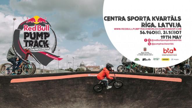 "Rīgā notiks ""Red Bull Pump Track World Championship"" posms"