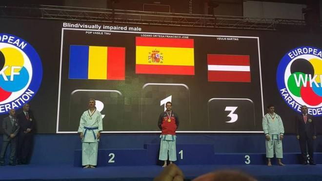 Latvija tikusi pie medaļas arī Eiropas para karatē čempionātā