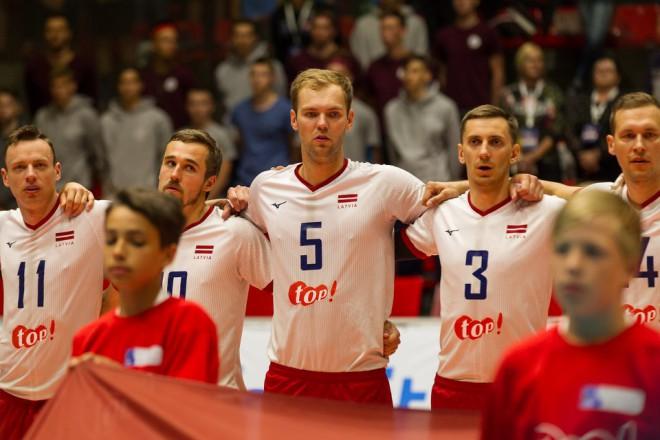 """Volejbola izlase dodas uz Eiropas līgas """"Final 4""""  turnīru"""
