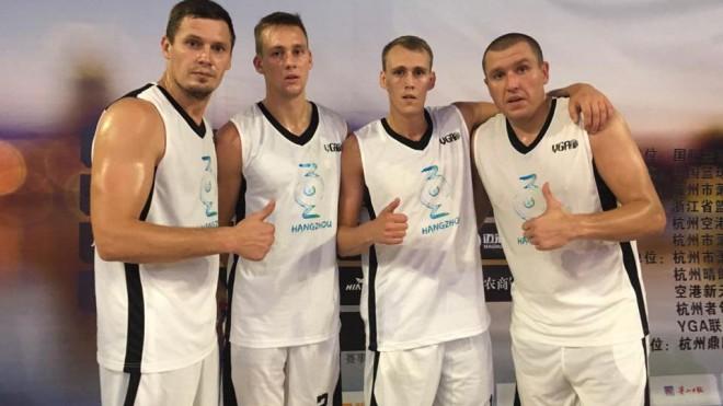 """3x3 basketbolisti ar divām drošām uzvarām sāk sezonas priekšpēdējo """"Challenger"""" turnīru"""