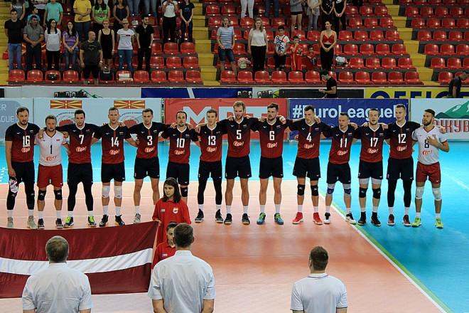 Eiropas čempionāta kvalifikācijai gatavosies 16 volejbolisti