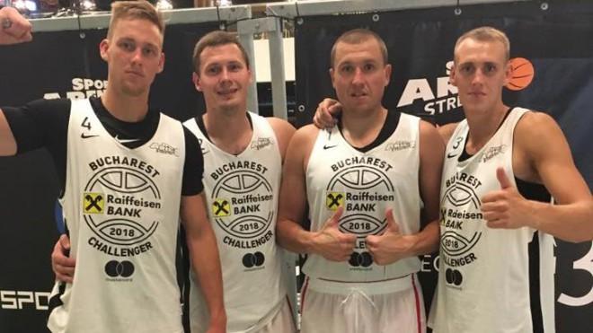"""""""Riga"""" komanda neticamā trillerī triumfē Bukarestes """"Challenger"""" turnīrā"""