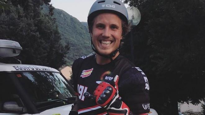 Miks Zvejnieks izcīna sudrabu un bronzu Eiropas čempionātā skrituļslalomā