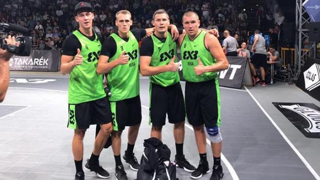 """3x3 basketbolisti pirmoreiz iekļūst """"Masters"""" finālā, kur smagi zaudē"""