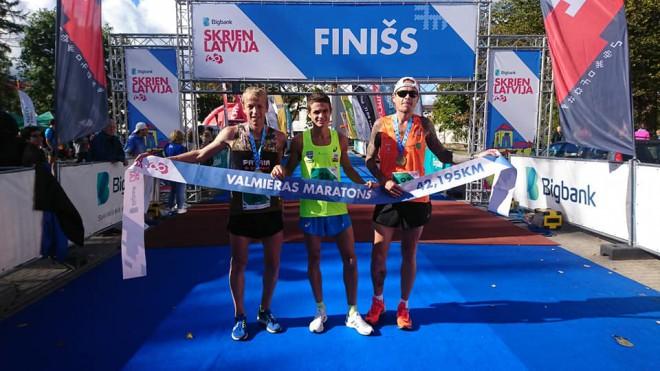 Serjogins un Sokunova uzvar Valmieras maratonā