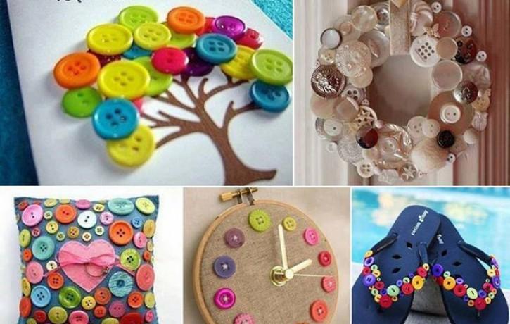 Vairāk kā 30 radošas idejas kā izmantot pogas