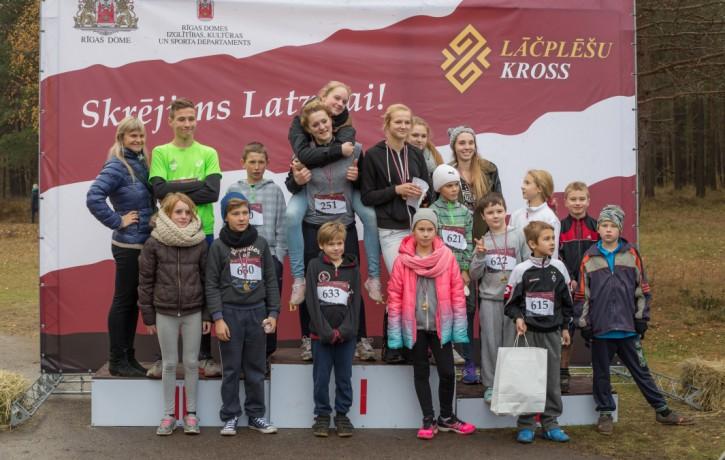 """""""Lāčplēšu kross"""" jau otro gadu aicina uz Mežaparku vienoties skrējienā Latvijai"""