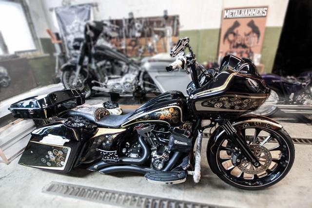 Latvijā radīts ekskluzīva dizaina motocikls