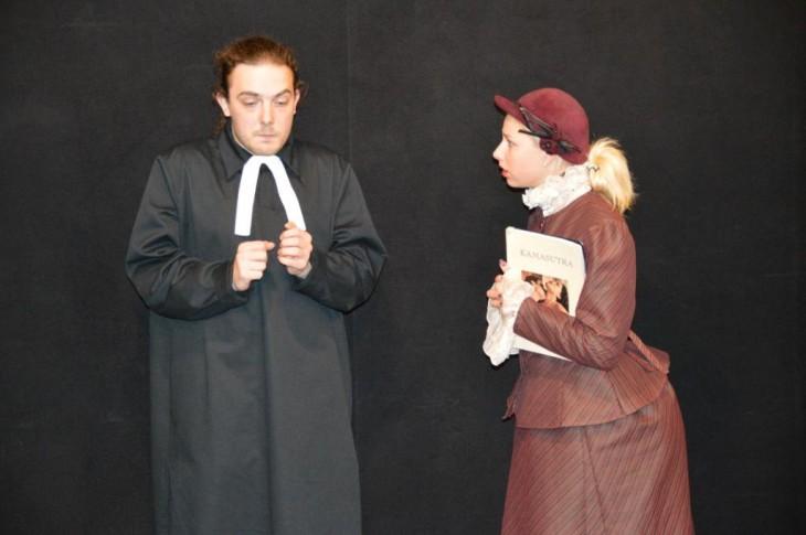 Aktiermeistarības studiju darbs novembrī Dramaturgu teātrī