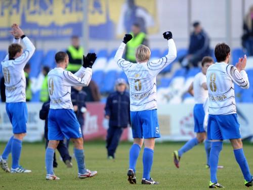 Даугава сумела выйти в полуфинал Кубка Латвии