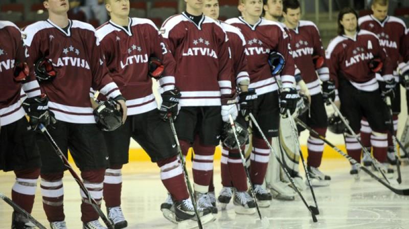 Latvijas izlase  Foto: Romāns Kokšarovs, Sporta Avīze, f64