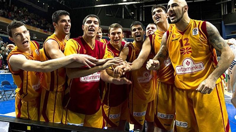Maķedonijas izlase  Foto: www.fibaeurope.com